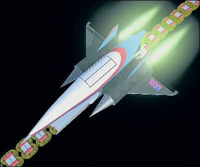 Al espacio en catapulta magnética