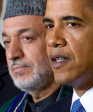 Obama no ha criticado las evidencias de fraude cometidas por Karzai en las elecciones afganas. AFP