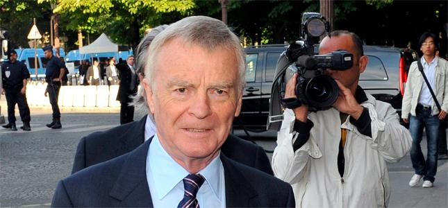 El ex jefe de la Fórmula Uno, Max Mosley. EFE