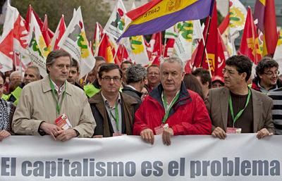 IU LV-CA moviliza a miles de personas en Sevilla por una salida de izquierdas a la crisis