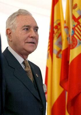 El presidente del Consejo General del Poder Judicial (CGPJ) y del Tribunal Supremo, Carlos Dívar. EFE/Archivo - EFE