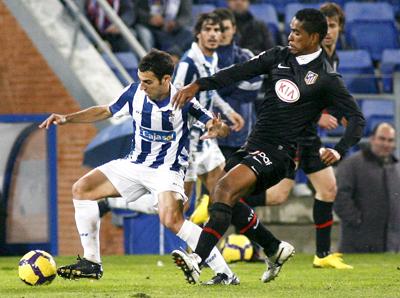 El Atlético se hunde en Huelva