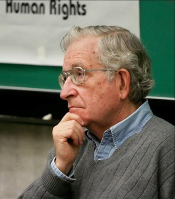 Noam Chomsky, en una imagen de archivo.